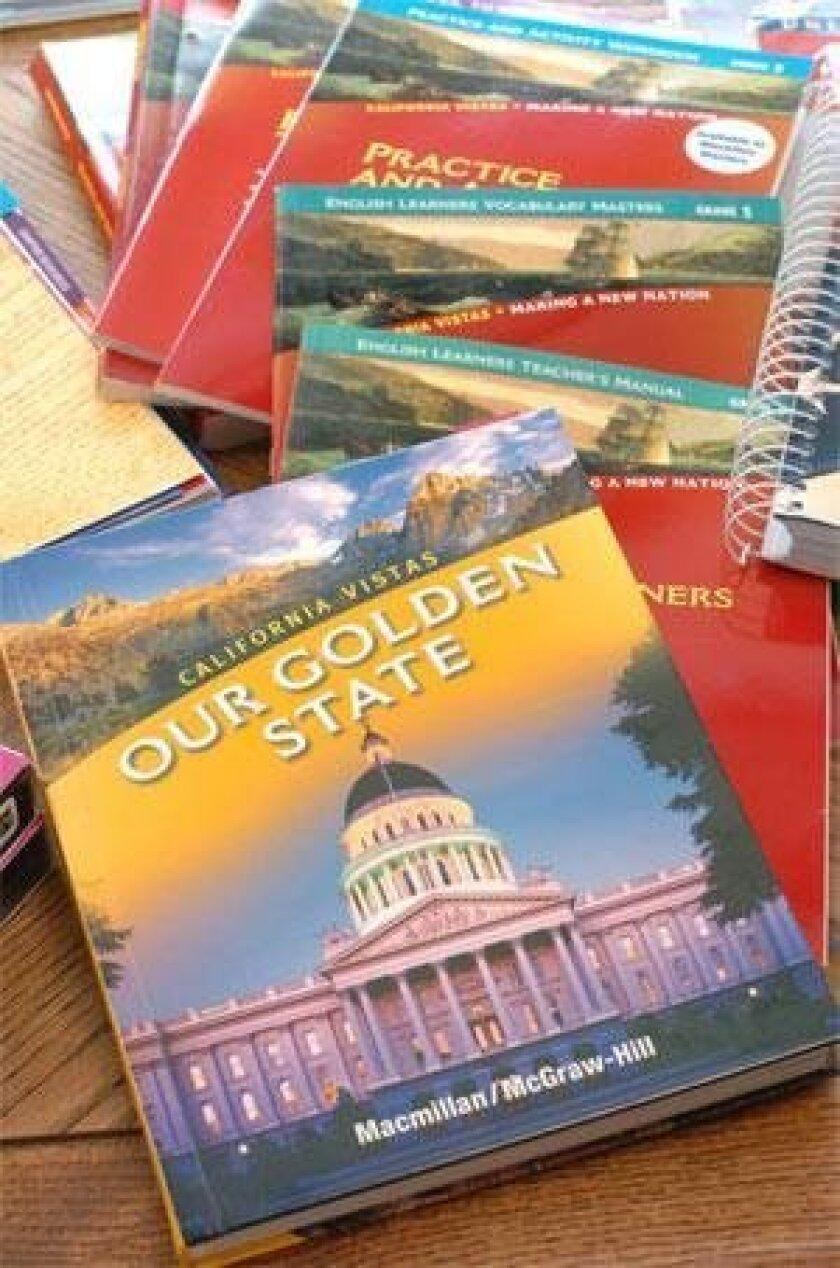 CUSD Adopts New K 5 History Books The San Diego Union Tribune
