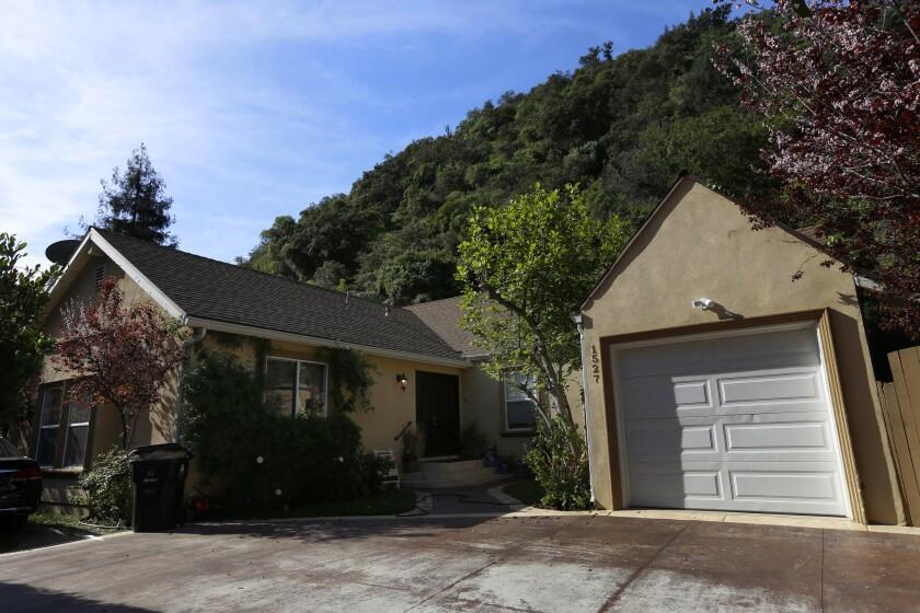 Susan Berman's home