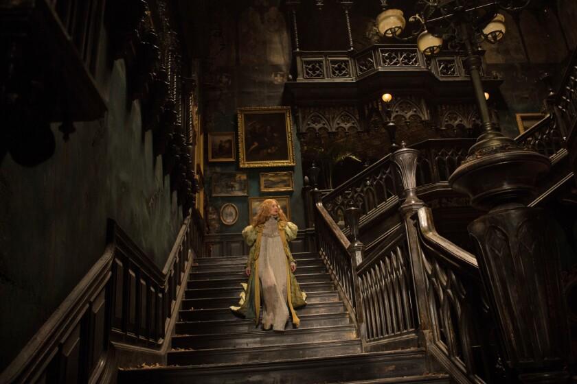 "Mia Wasikowska stars as Edith Cushing in Legendary Pictures' ""Crimson Peak."""