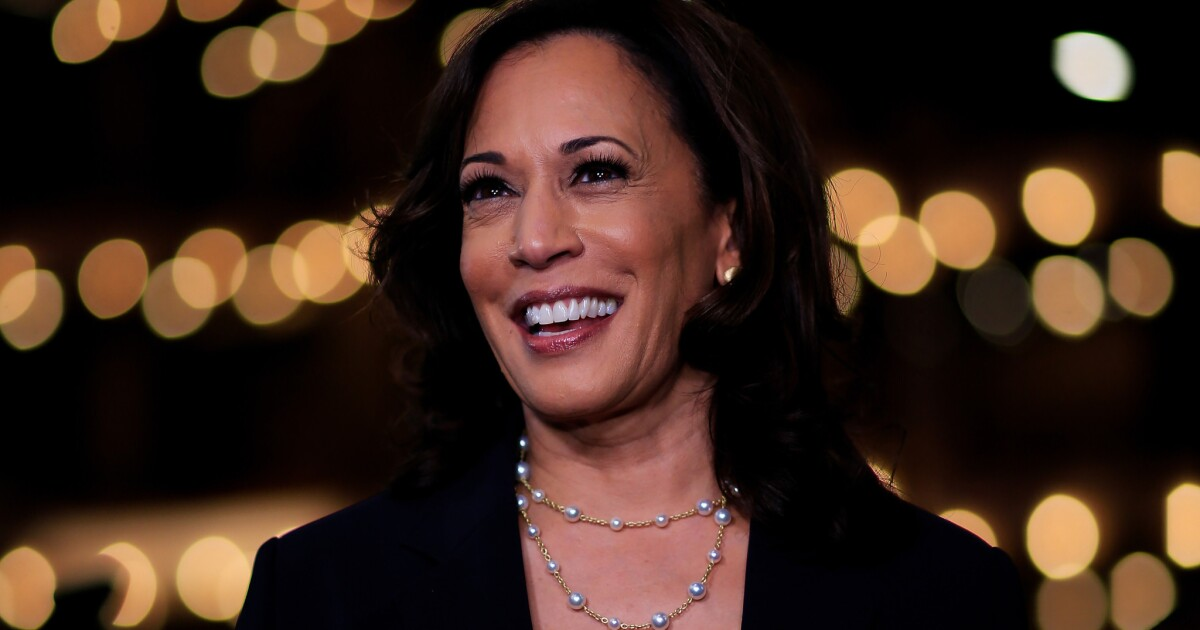 Op-Ed: Please don't tell Kamala I'm with her. I wouldn't want to jinx the race