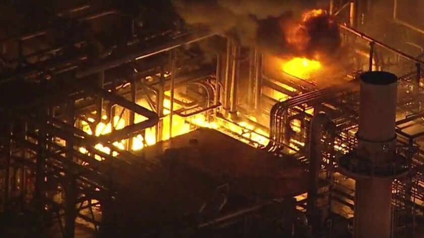 Gasoline prices are rising following refinery fire, oil