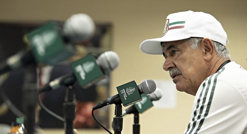 Ricardo 'Tuca' Ferretti, entrenador interino de la selección mexicana de futbol.