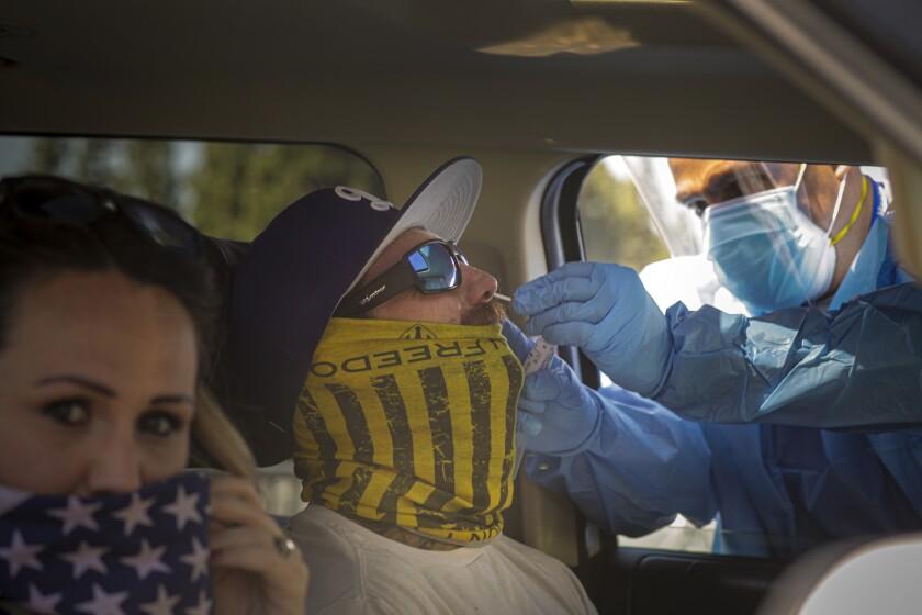 San Bernardino coronavirus testing