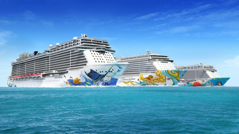 US. News & World Report has released its rankings of the top cruise lines in the country and South Florida is well represented. Royal Caribbean, Norwegian, Carnival cruise lines were ranked in several categories. Pictured are Norwegian ship renderings.