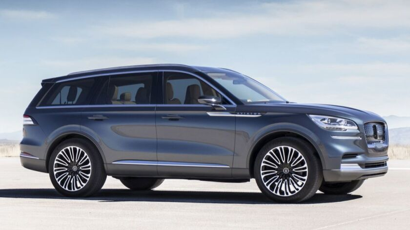 Aviator glides into New York this week, offering a preview of The Lincoln Motor Company's newest v