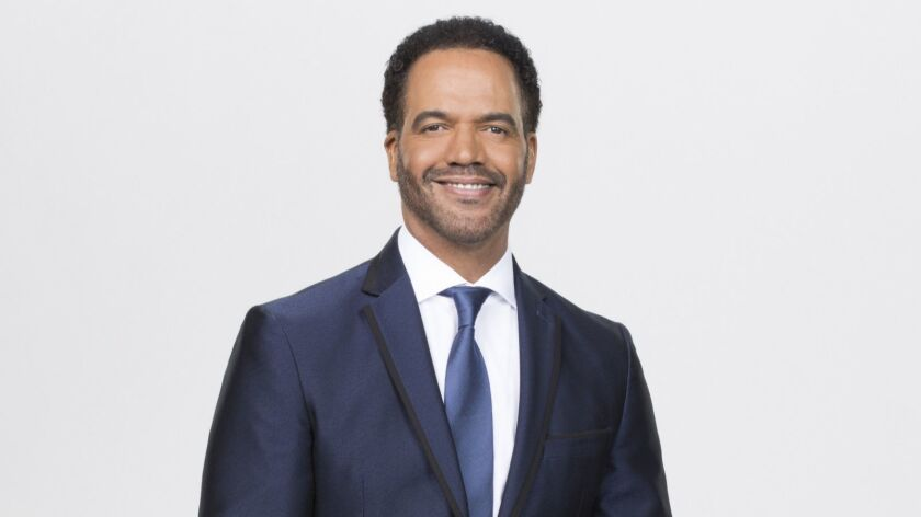 """This image released by CBS shows Kristoff St. John who portrays Neil Winters on the CBS series """"The"""