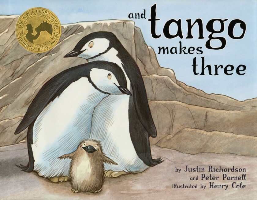 """The 2005 children's book """"And Tango Makes Three"""" has been ordered removed from libraries in Singapore, sparking protests in the city-state's literary community."""
