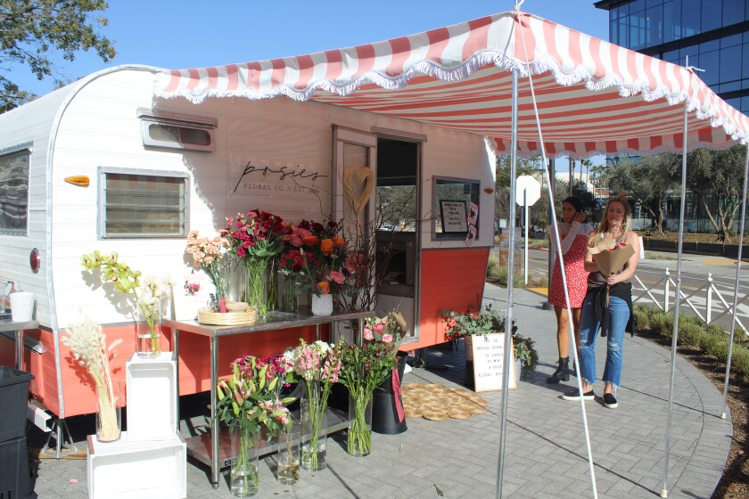 Posies Floral Company has a pop-up shop at One Paseo through Feb. 15.
