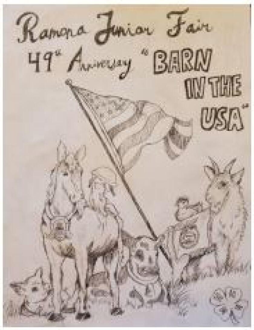 Ramona Junior Fair Barn in the USA sale