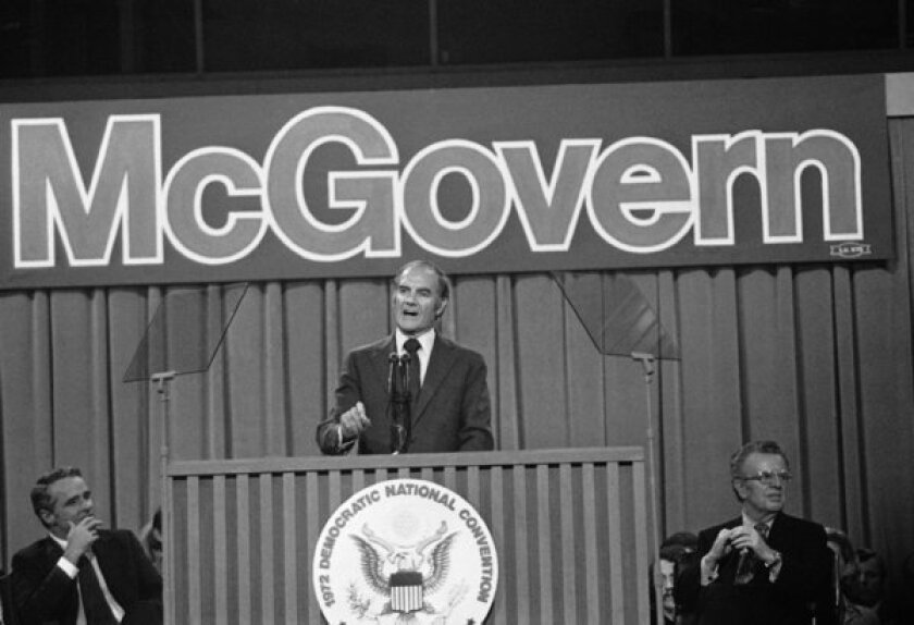 A curious omission in Barack Obama's George McGovern tribute