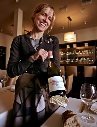 "AOC partner and wine director Caroline Styne came up with a helpful way of getting diners to experiment with wines: ""We have a money-back guarantee. If you don't like the wine, I'll take it back and serve it by the glass."""