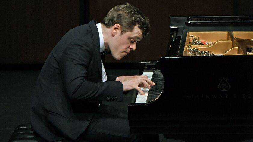 Benjamin Grosvenor, 24, performs Sunday at the Wallis in Beverly Hills.