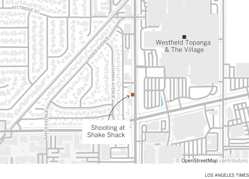 Shooting at Shake Shack in Woodland Hills