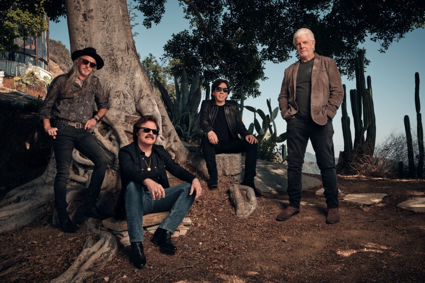 The Doobie Brothers have reunited with former member Michael McDonald