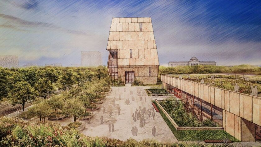 The Obama Presidential Center will be anchored by a museum tower housing exhibition space as well as