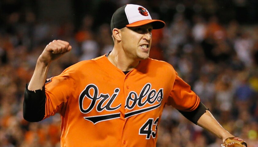 Jim Johnson is the Orioles' nominee for the 2012 Roberto Clemente Award.