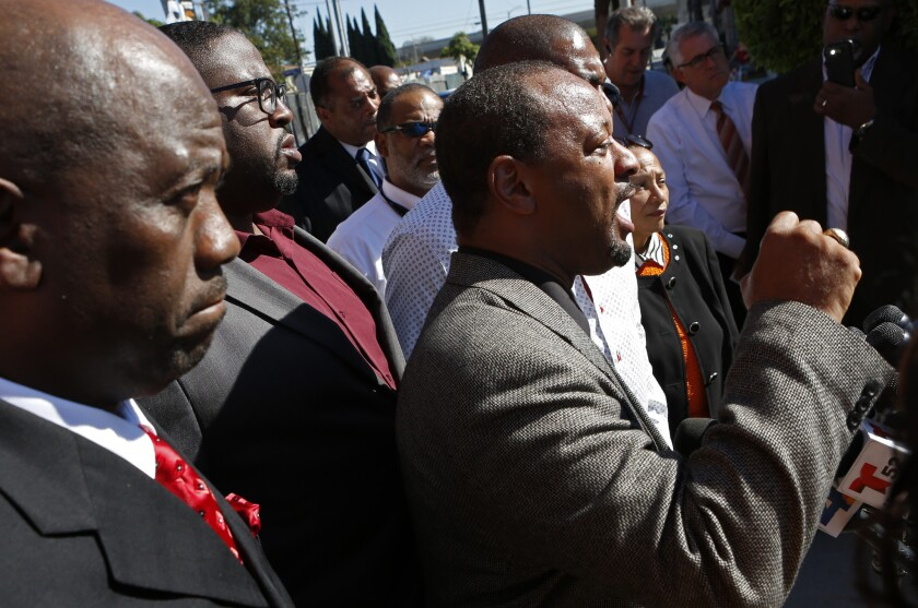 Longtime L.A. civil rights leaders dismayed by in-your-face tactics of new crop of activists