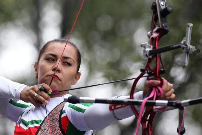 La tiradora mexicana Aida Román. EFE/Archivo
