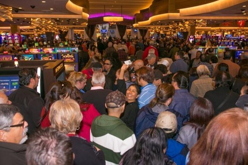 Graton Resort & Casino is filled with crowds on Nov. 5, 2013