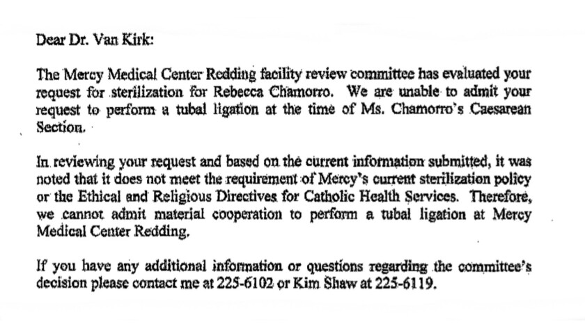 Column: Catholic hospital chain Dignity Health defends its