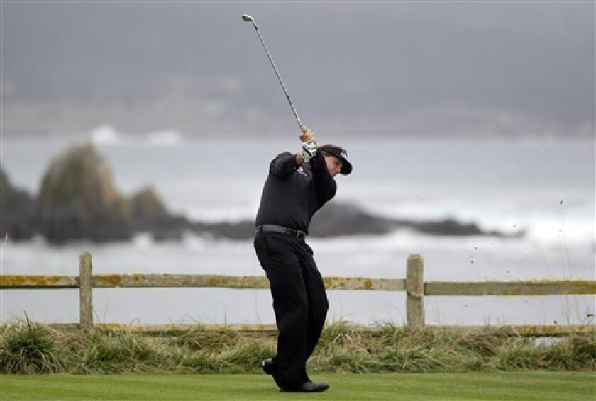 Family Ties: Phil Mickelson's roots run deep at Pebble Beach
