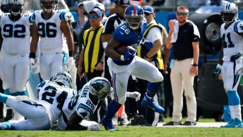 New York Giants v Carolina Panthers