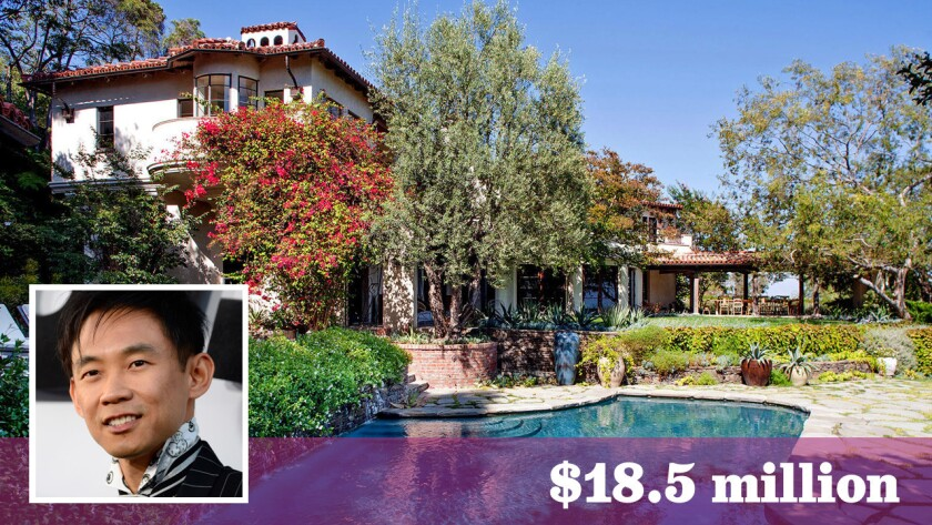 Filmmaker James Wan has bought a Bel-Air home once owned by actresses Diane Keaton and Meg Ryan, among other celebrities, for $18.5 million.