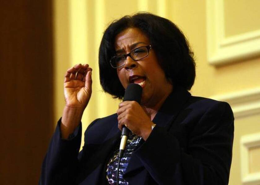 Los Angeles mayoral candidate Jan Perry lost her downtown L.A. council district because of a feud with council President Herb Wesson.