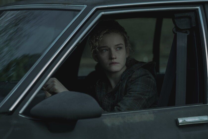 """Emmy nominee Julia Garner in 'Ozark' Season 2. Garner hopes to crack """"Game of Thrones'"""" stranglehold on this year's supporting actress category."""