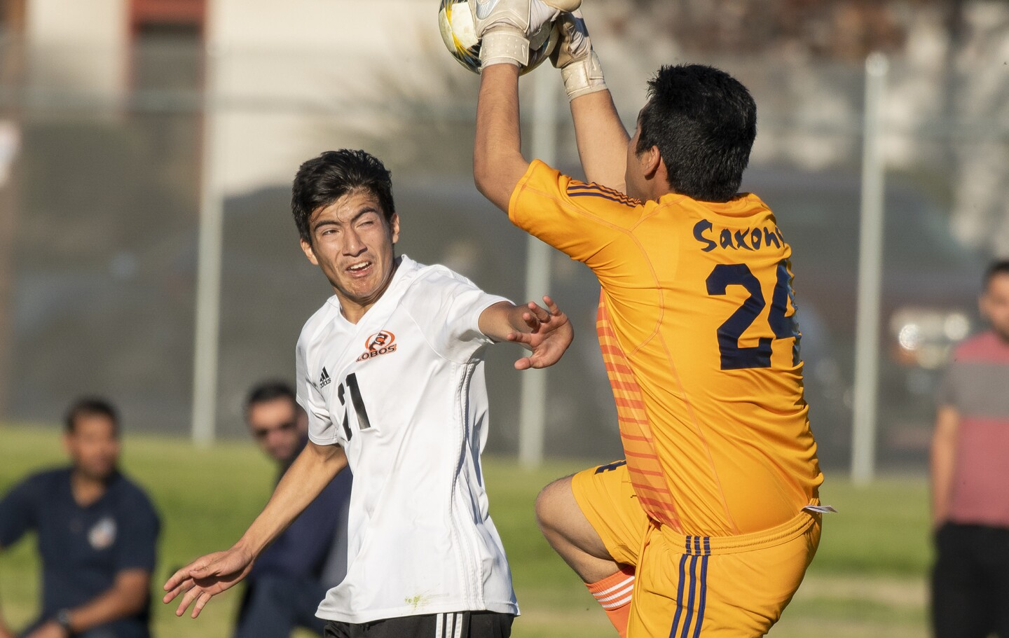 Photo Gallery: Los Amigos vs. Loara in boys' soccer