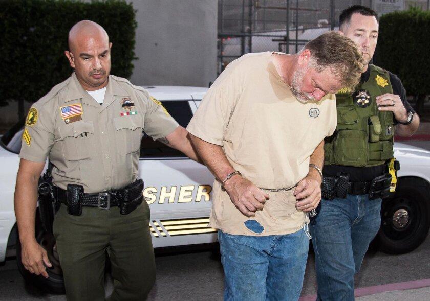 """Investigators arrest Charles """"Chase"""" Merritt for the murders of Joseph, Summer, Gianni & Joseph Jr. McStay on Nov. 5, 2014."""