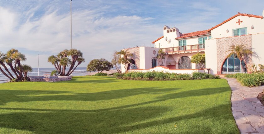 The Adamson House was once the only home along the 27-mile-long beach of Malibu.