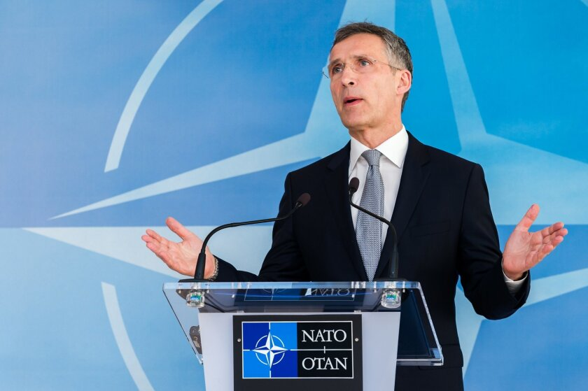 NATO Secretary General Jens Stoltenberg will address a joint session of Congress on Wednesday.