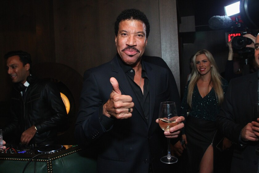 """""""Hello"""" singer Lionel Richie gets in on Adele spoofs."""