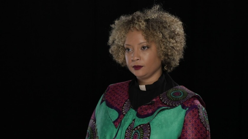Pastor Kaji Dousa has filed a civil rights lawsuit accusing the U.S. Department of Homeland Security of targeting her as part of a government harassment campaign against advocates, lawyers and journalists working in Tijuana.