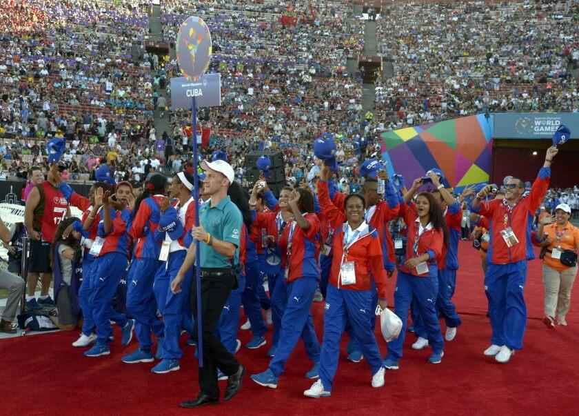 La delegación cubana dice presente en las Olimpiadas Especiales.