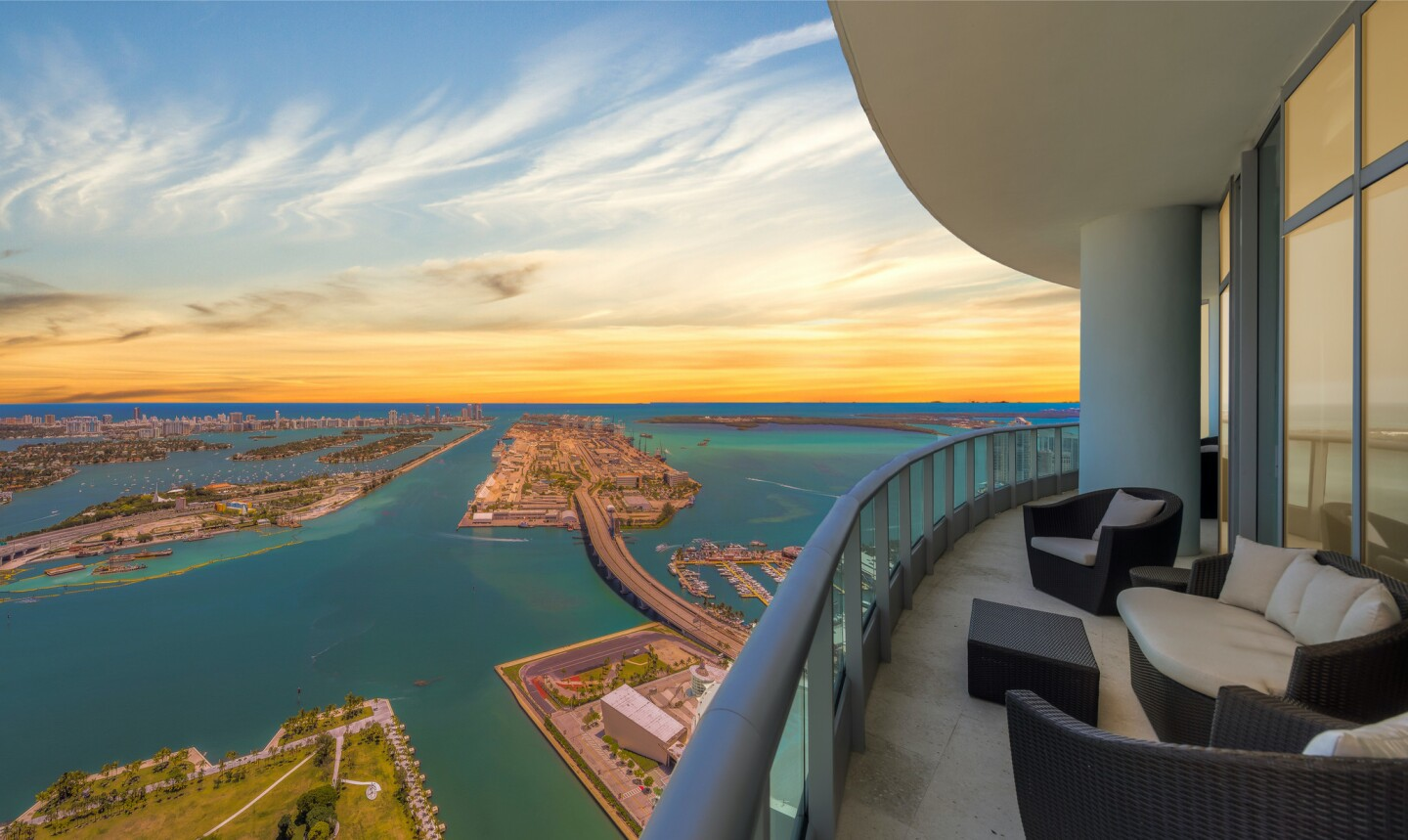 Kevin Durant's former Miami penthouse