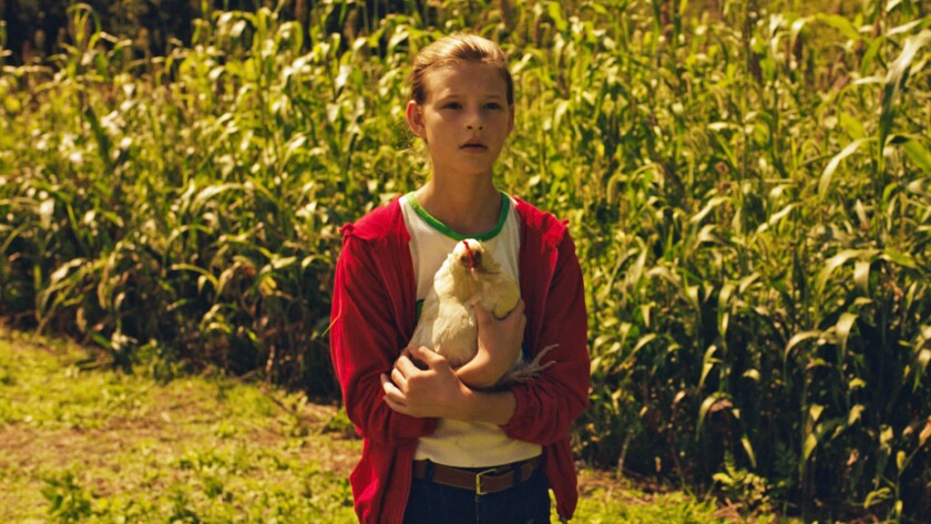 """Peyton Kennedy in the movie """"American Fable."""""""