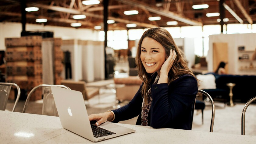 Lauren McGoodwin, 31, is the founder and chief executive of Career Contessa, an online platform designed to help women search for the best job opportunities and perform at a higher level when they get them.