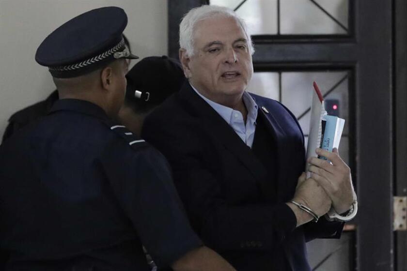 Fotografía de archivo del expresidente de Panamá Ricardo Martinelli. EFE/Archivo
