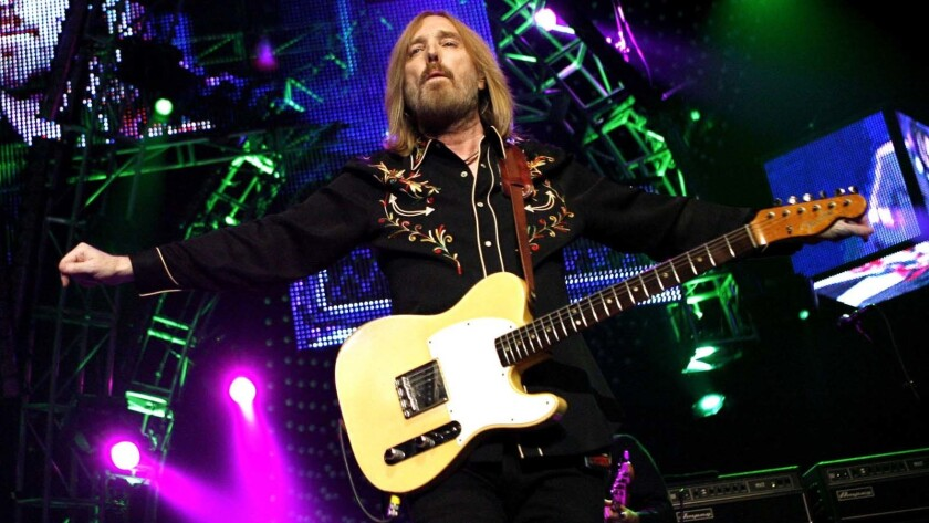 Tom Petty at Madison Square Garden in New York City in 2008.