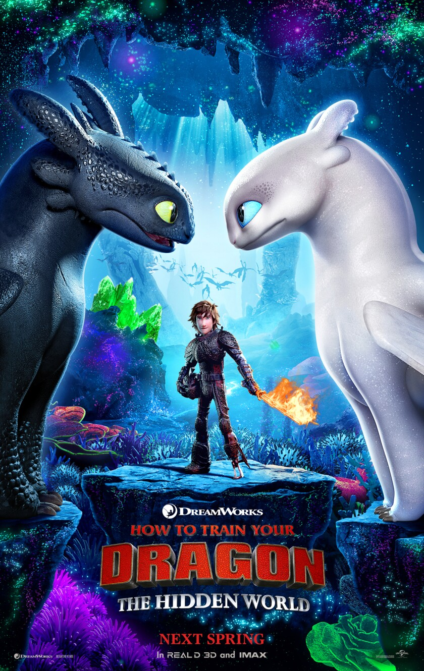 'How to Train Your Dragon: The Hidden World' screens Aug. 30 at La Jolla Library