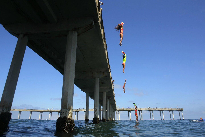 Junior Lifeguard Pier Jump