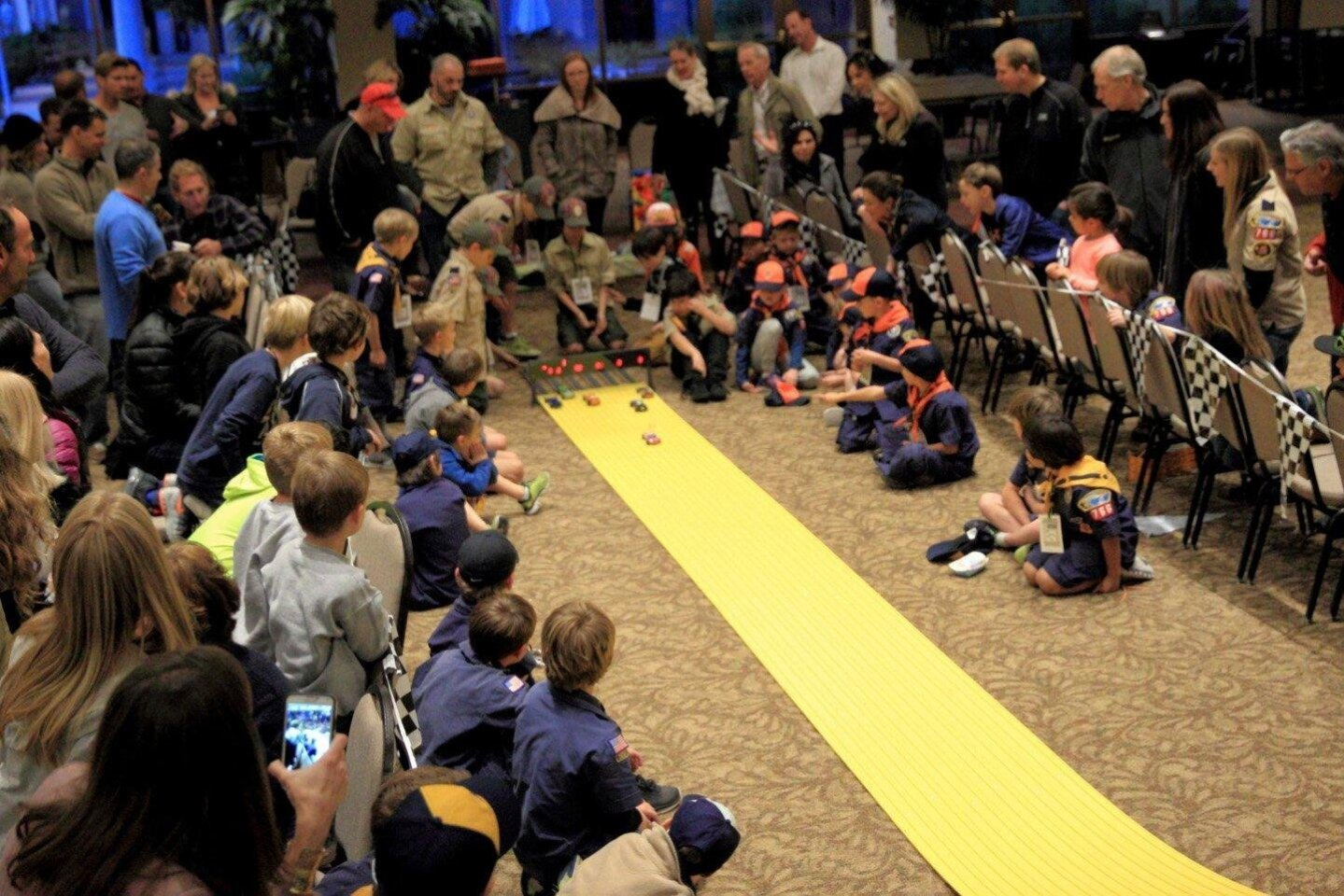 Boyscouts Pinewood Derby 2016