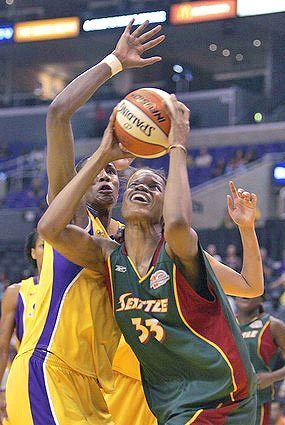 sparks Lisa Leslie