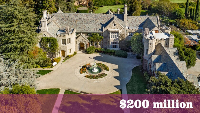 At $200 million, the Playboy Mansion in Holmby Hills is among the priciest homes for sale in the United States.