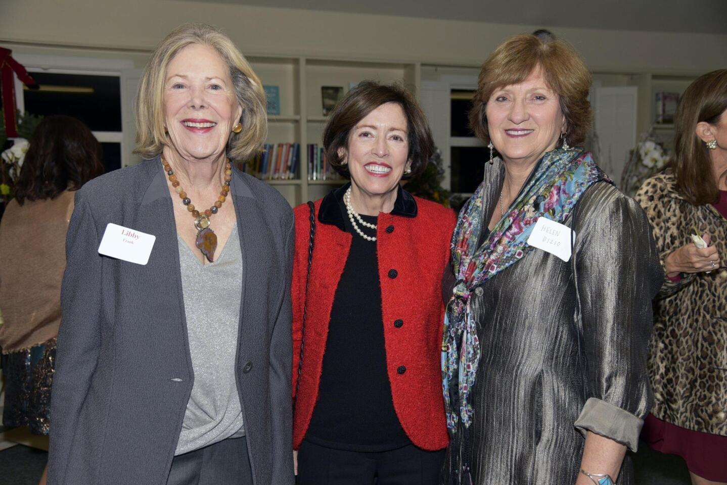 Libby Frank, Peggy Brooks, Helen DiZio