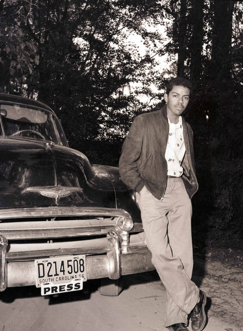 Cecil J. Williams as a  freelance photographer in the mid-1950s