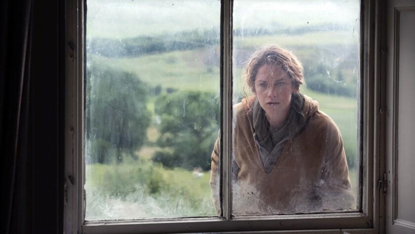 "Ruth Wilson in the movie ""Dark River."""