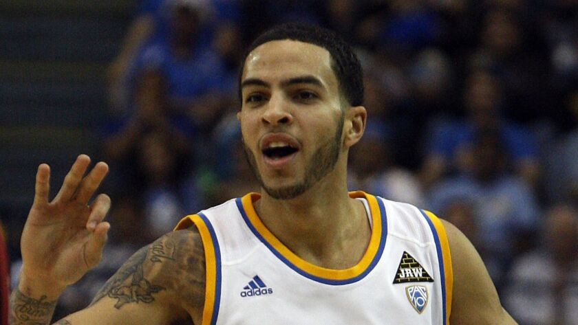 Former UCLA basketball player Tyler Honeycutt is pictured in January 2011.